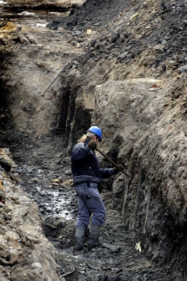 Arkæologiske fund bremser byggerier