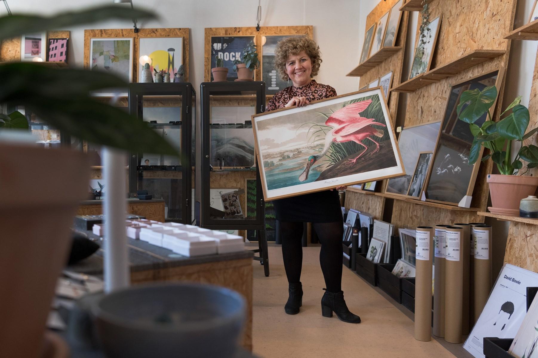 Retrofund, kunst og kaffe: Sofie har Gejst