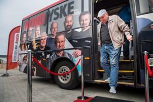 Nordjyske-bussen kom til Vorupør