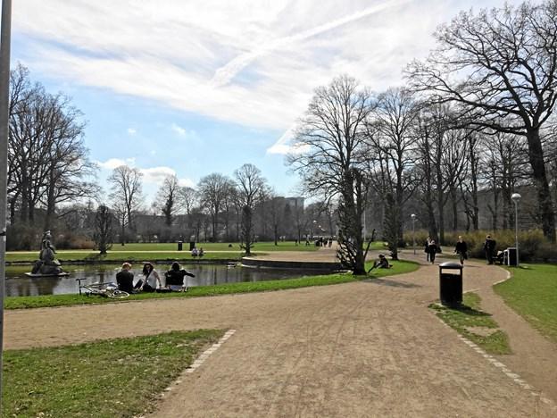 """""""Kilden"""" er en af Aalborgs ældste parkanlæg og et dejligt sted at nyde foråret."""