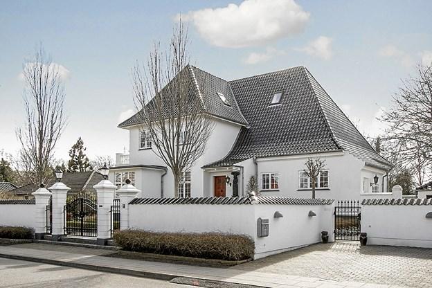 Huset på Constancevej kan købes for 15,5 mio. kr. Foto: Ejendomsmægler Thorkild Kristensen