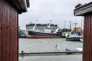 Ny trawler klar til dåb i Strandby Havn
