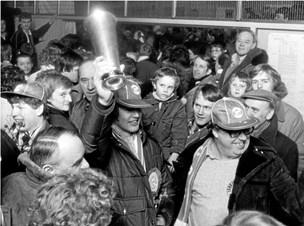 Guldminder fra '81: Per glemmer aldrig den dag ishockeyguldet kom til Aalborg