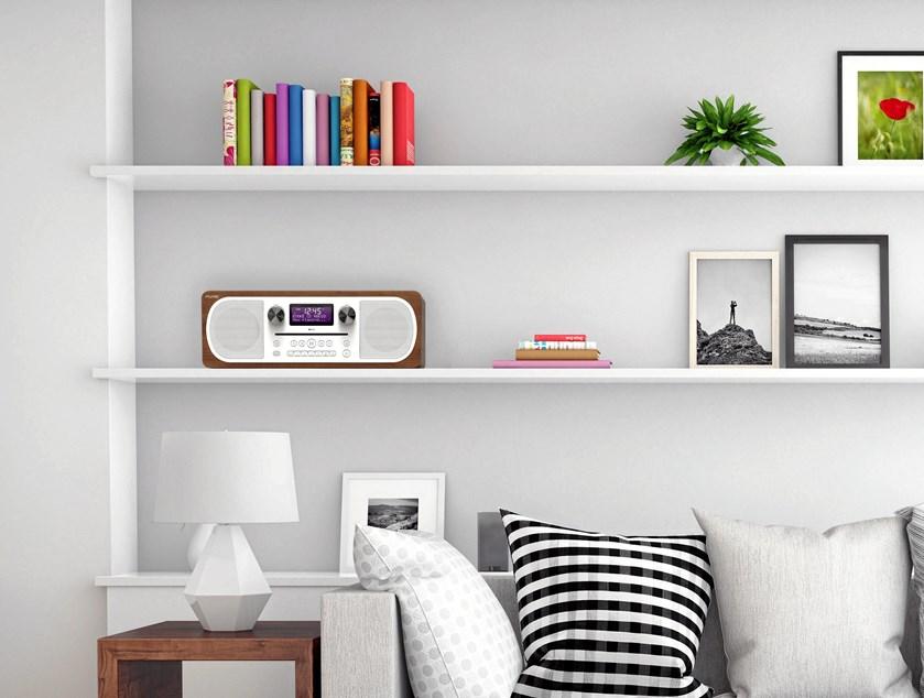 Man behøver ikke at give afkald på hverken lydkvalitet eller muligheder med et moderne stereoanlæg
