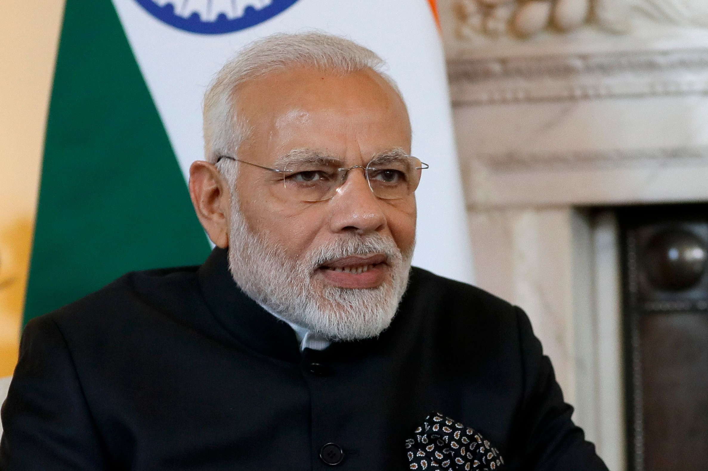 indiens første premierminister