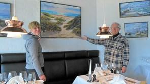 Løkkens-maler udstiller i Skallerup Seaside Resort