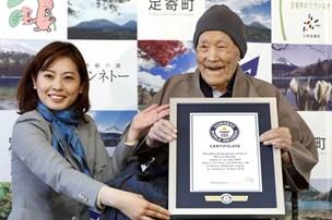 Verdens ældste er død som 117-årig på et hospital i Japan