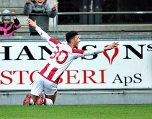 Video: Se højdepunkter fra AaB-FC Midtjylland
