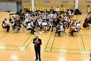Foråret blev budt velkommen af ungt symfoniorkester