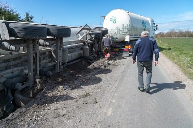 Farlig vej: Udvidelse er sat på stand-by