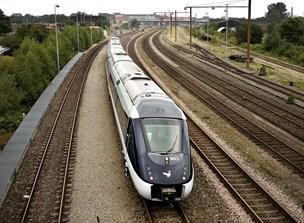 Sporarbejde: Tidlige tog fra Aalborg mod Aarhus