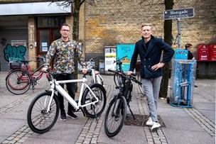 Køb elcykler på anden sal i centrum