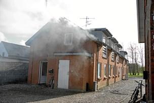 Brand i frituren ødelagde lejlighed