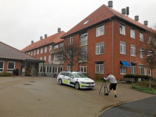 Skudsag på asylcenter: Formodet gerningsmand anholdt