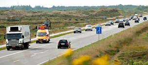 Bredere vej til Skagen er god investering - men vi har ikke råd nu, siger minister