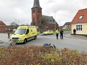 Trafikulykke: 16-årig fortsat i kritisk tilstand