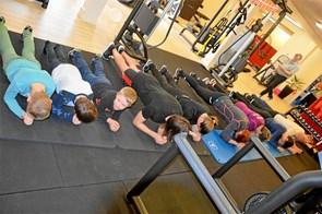 Musklerne er på overarbejde