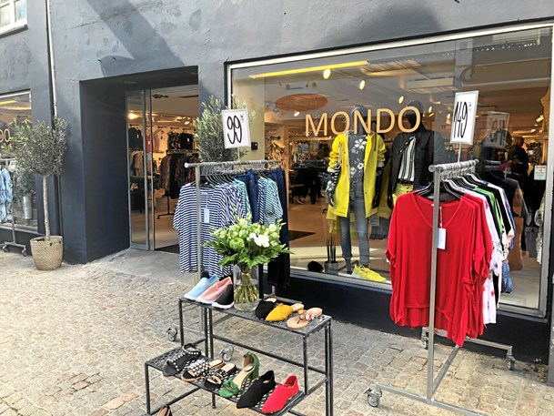 Ny butik i Algade: Mondo er åbnet