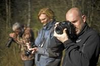 Fotograferne lærte naturfoto på den uskarpe måde