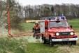 Deltidsbrandmænd har bygget deres egen brandbil - og den virker!