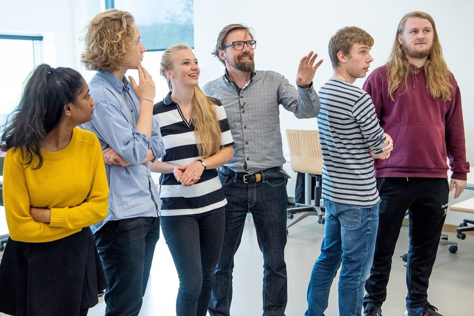 Helle Madsen, Caspar Birk og Lars Teilmann