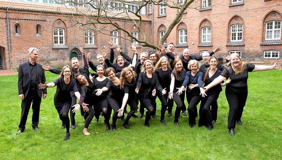 Storladen kormusik i Mariager