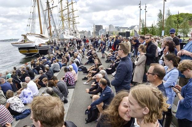 Der bliver masser at kigge på, når Træskibs Sammenslutningen holder stævne i byen samtidig med Aalborg Regatta i 2020. Arkivfoto: Michael Koch