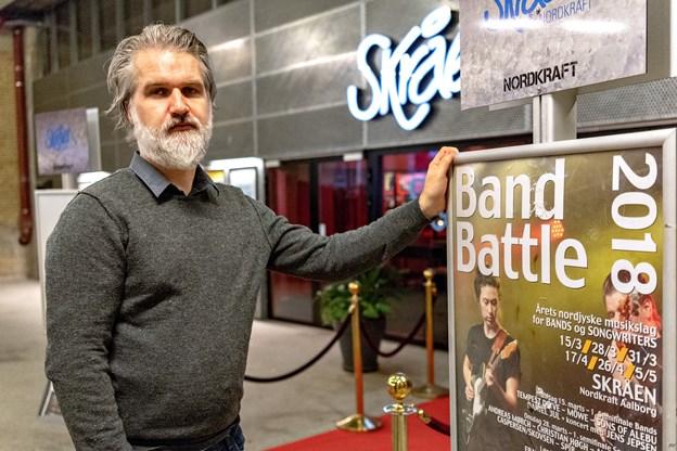 Band Battle udfylder en vigtig rolle i Aalborgs musikliv, siger Søren B. Kristensen.