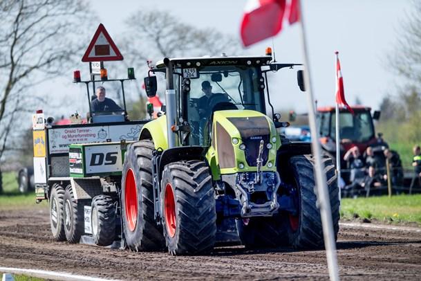 Traktortræk for fuld kraft i Hobro - se de herlige billeder