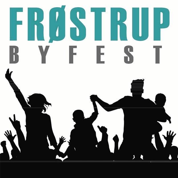 Nyt logo for byfesten i Frøstrup.Foto: Louise Lynge Olesen