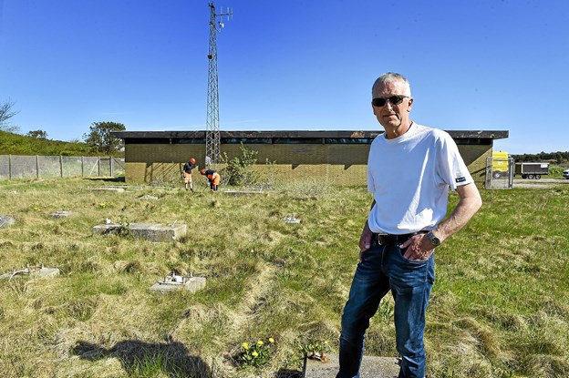 Måle og datachef Holger Larsen, Thy-Mors Energi, forventer stor interesse for den nye grund.Foto: Ole Iversen