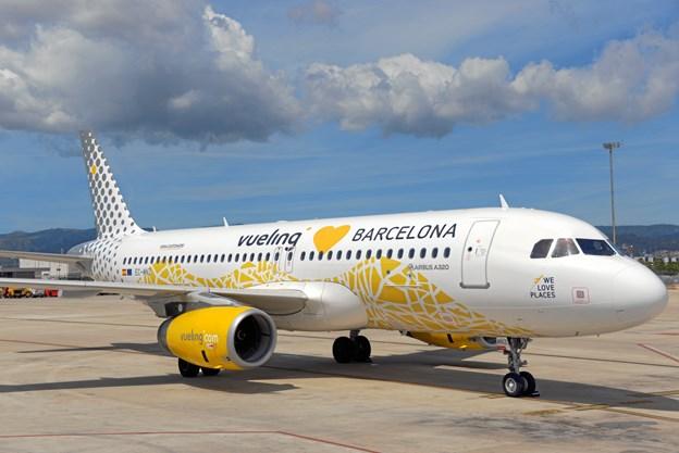 Nu kan man flyve fra Aalborg til Barcelona året rundt. Foto: Vueling