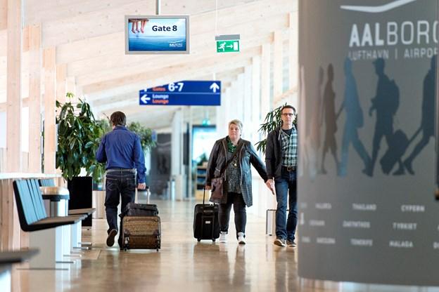 Siden 2012 har Vueling haft direkte rute mellem Aalborg og Barcelona om sommeren. Arkivfoto: Torben Hansen