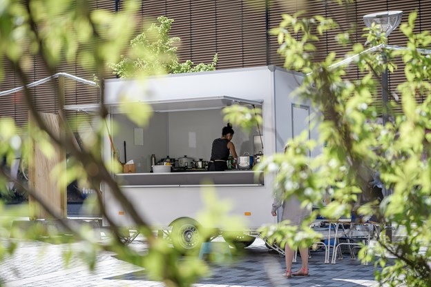 Det er meningen, at køkkenet skal holde åbent hver dag. Foto: Nicolas Cho Meier