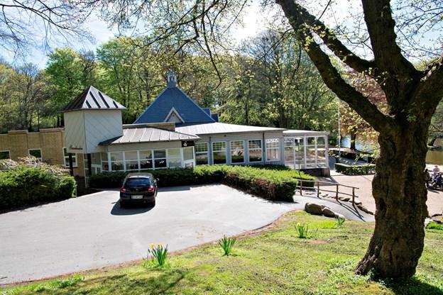 Restauranten ligger med en konge-placering i Hjørrings grønne hjerte. Foto: Kurt Bering