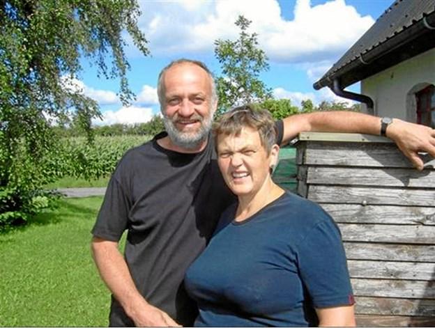 Niels og Bente Rasmussen bor i Gettrup. Privatfoto
