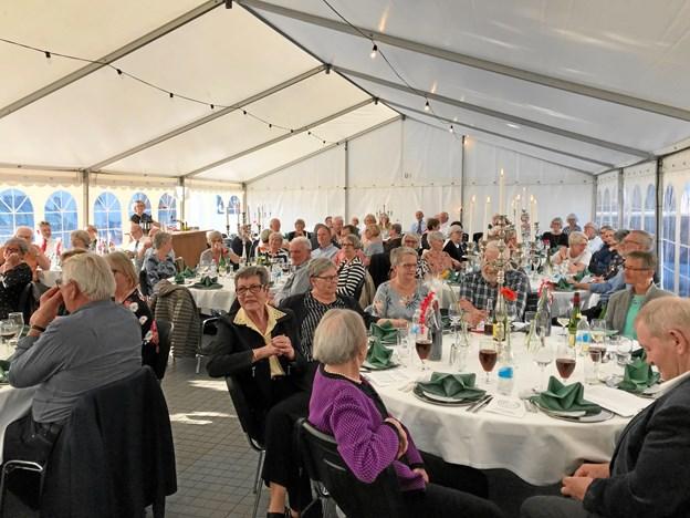 Hjørring Bridgeklub BK 1973 har i år fejret jubilæum med 110 deltagere.