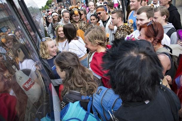 Afbryder sporarbejde: Togtur til karneval er reddet