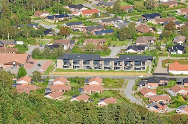 Af nye byggerier opførte Wenbo sidste år Snehvidegården i Højene, hvor der er 16 lejligheder.