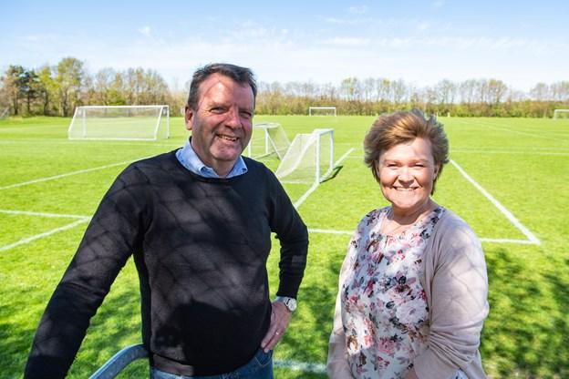 Jette Varmløse og Poul Beck har kridtet banen og er i fuld gang med at forberede årets Cup No.1, der finder sted i uge 28.