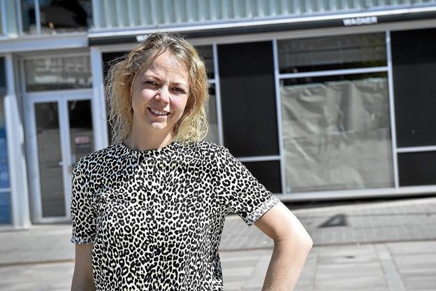 Jane Brandt Eriksen glæder sig vildt til at åbne den 23. maj i dobbelt så store lokaler. Foto: Ole Iversen