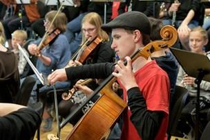 Thy-unge kom med i et symfonikorkester