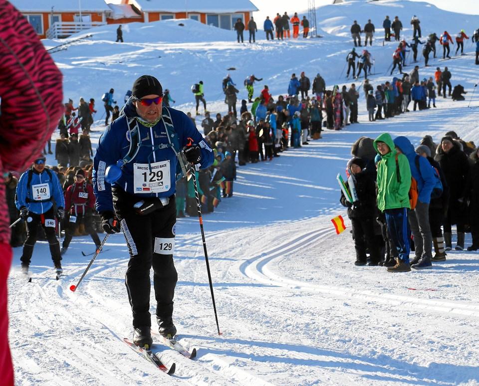 Selv garvede langrendsstjerner forbløffes over, hvor barskt det er at løbe Arctic Circle Race. Privatfoto