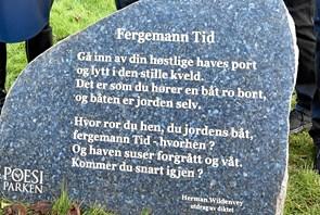 Norsk poesi-gave flytter til Dynen