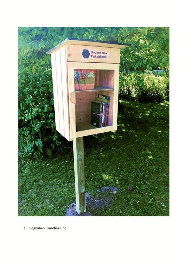 Lån eller byt en bog i parken