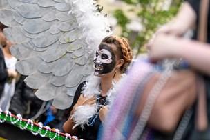 Tyren blev begravet: Karnevallet i gang