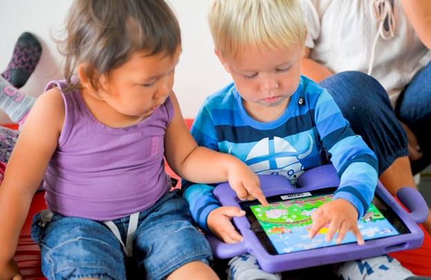 Bekymring: Små børn sanser for lidt
