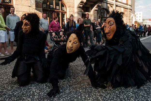 De lidt uhyggelige dunkelfolk.Foto: Lasse Sand