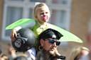 Perfekt vejr til børnenes karneval - se billederne af de glade børn