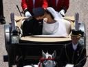 Prins Harry og Meghan sagde ja foran 600 gæster
